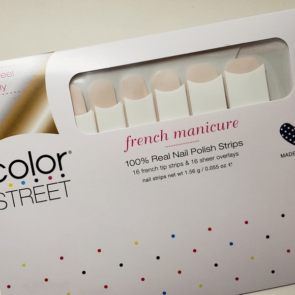 Color Street Other - COLOR STREET French Manicure Nail Strips